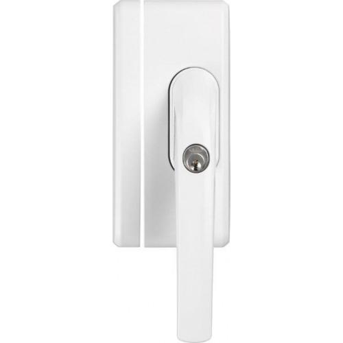 Abus Alarm Fensterschloss; FO400A weiss inkl. 2 Schlüssel; AL0125 gleichschließend; 33270-8